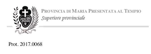 Официално изявление от Провинциалния Настоятел на о. Паоло Кортези