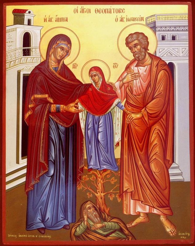 Отец Павел за празника на Св. Ана, Малчика 2012 г.
