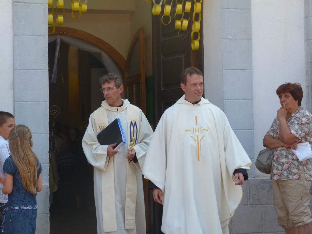 Първа проповед на енориста о. Павел 9/9/2012г.