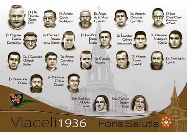 16 монаси и 2 монахини от Сантандер (1936)